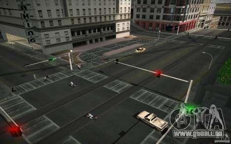 Route de HD (GTA 4 en Afrique du Sud) pour GTA San Andreas deuxième écran