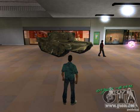 Camo-tank für GTA Vice City