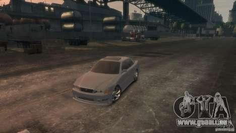 Toyota Chaser 2.5 Tourer V pour GTA 4