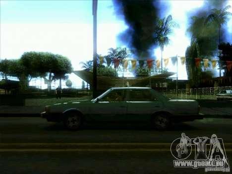 Un taxi de dri3r pour GTA San Andreas laissé vue