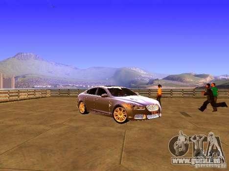 Jaguar XFR 2011 für GTA San Andreas linke Ansicht