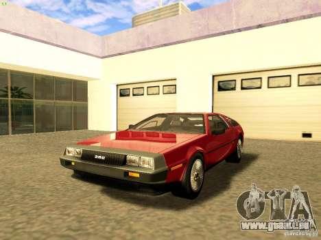 DeLorean DMC-12 V8 für GTA San Andreas
