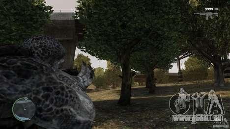 Gears Of War Grunt v1.0 pour GTA 4 troisième écran