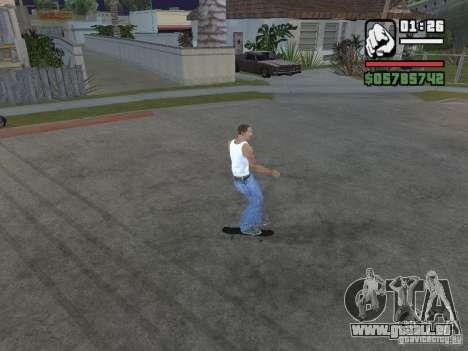 Patinage pour GTA SA pour GTA San Andreas troisième écran
