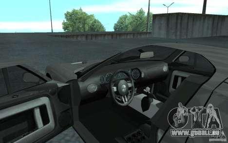 Ford GT 40 pour GTA San Andreas vue arrière