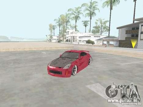 Nissan 350Z v2 für GTA San Andreas