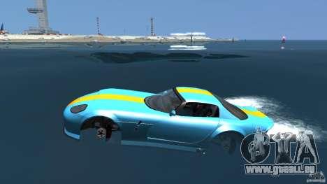 Banshee Boat pour GTA 4 est une gauche