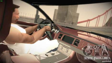 Jaguar XJ 2010 V1.0 für GTA San Andreas Rückansicht