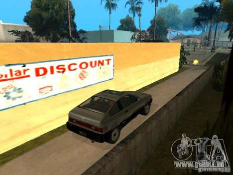 Blista From GTA IV für GTA San Andreas zurück linke Ansicht