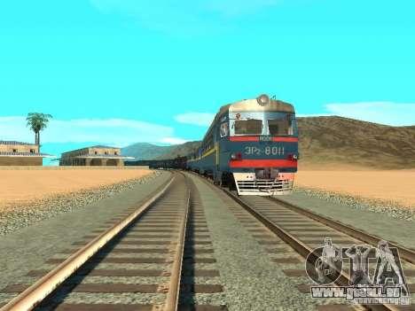 Er2 8011 für GTA San Andreas Rückansicht