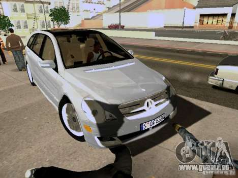Mercedes Benz R300 für GTA San Andreas zurück linke Ansicht