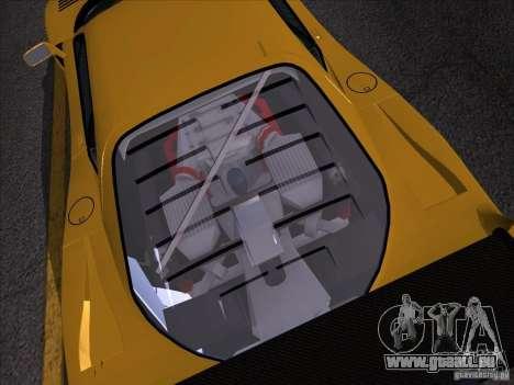 Ferrari F40 GTE LM für GTA San Andreas zurück linke Ansicht