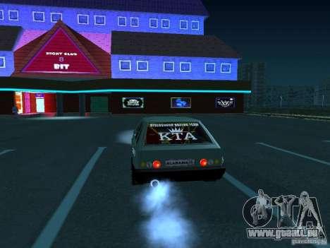 VAZ 2109 ziehen für GTA San Andreas rechten Ansicht