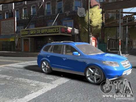 Hyundai Santa Fe pour GTA 4 est un droit