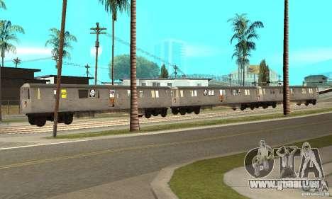 Liberty City Train GTA3 für GTA San Andreas linke Ansicht