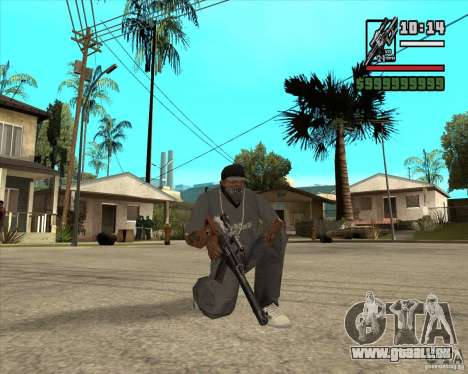 Millenias Weapon Pack für GTA San Andreas elften Screenshot