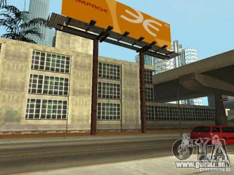 The Los Angeles Police Department für GTA San Andreas zweiten Screenshot