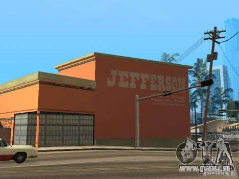 Neue motels für GTA San Andreas