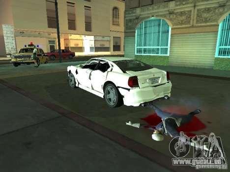 GTA 4 TBoGT von Buffalo für GTA San Andreas Innenansicht