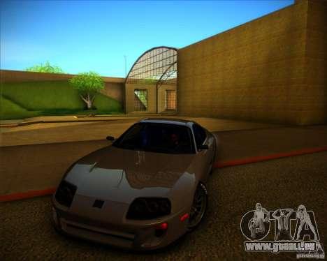 Toyota Supra SHE für GTA San Andreas Seitenansicht