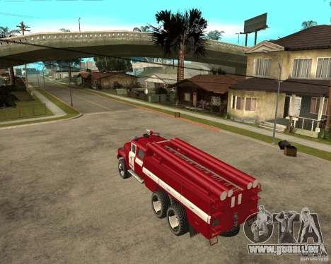 Feu ZIL 133GÂ AC pour GTA San Andreas laissé vue