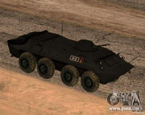 BTR-70 für GTA San Andreas