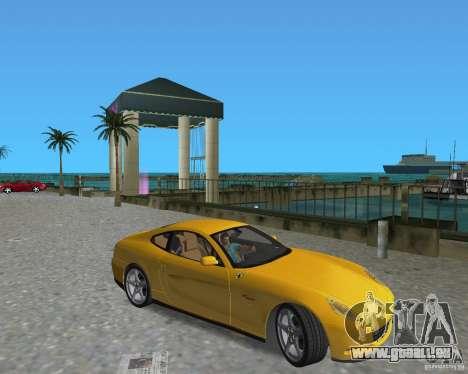Ferrari 612 Scaglietti pour une vue GTA Vice City de la droite