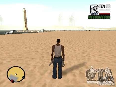 Ändern Sie das Zoom-radar für GTA San Andreas her Screenshot