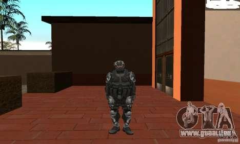 Crysis NanoSuit 2 pour GTA San Andreas deuxième écran