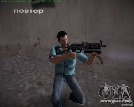 PP-19 Bizon für GTA Vice City Screenshot her
