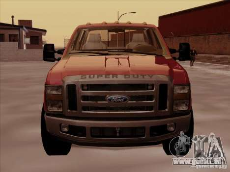 Ford  F350 Super Duty für GTA San Andreas linke Ansicht