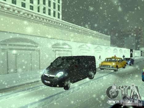 Vauxhall Vivaro v0.1 pour GTA San Andreas