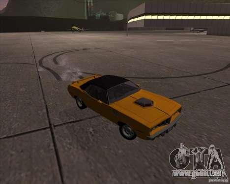 Plymouth Barracuda für GTA San Andreas Innenansicht