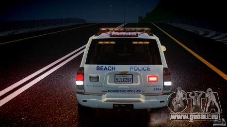 Chevrolet Trailblazer Police V1.5PD [ELS] für GTA 4 Innen