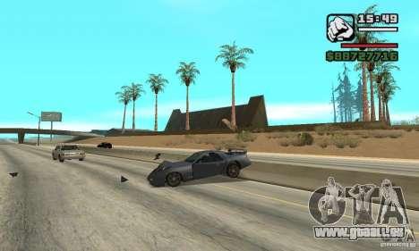 IV to SA features pour GTA San Andreas deuxième écran
