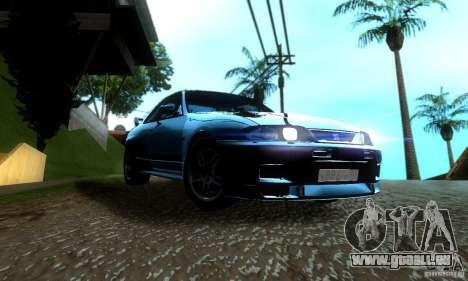 Nissan Skyline GT-R R-33 v2.0 pour GTA San Andreas vue de droite