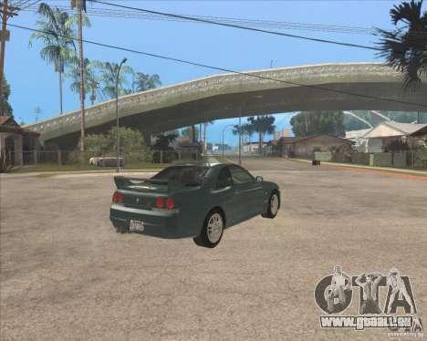 Nissan Skyline GT-R BNR33 pour GTA San Andreas vue de droite