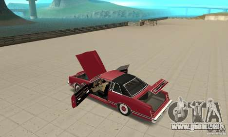 Ford LTD Landau Coupe 1975 für GTA San Andreas Innenansicht