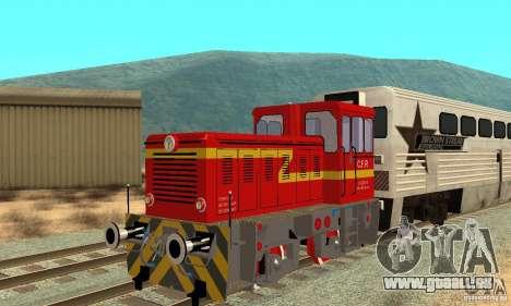 Locomotive LDH 18 pour GTA San Andreas