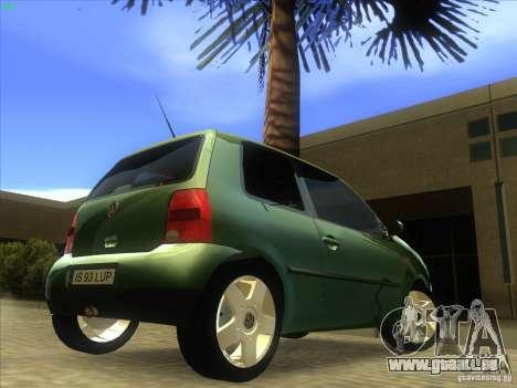 Volkswagen Lupo pour GTA San Andreas vue arrière