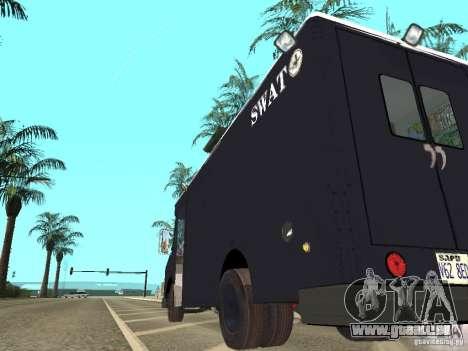 SWAT-Los Angeles für GTA San Andreas zurück linke Ansicht