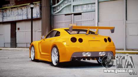 Nissan Skyline R35 GTR für GTA 4 hinten links Ansicht