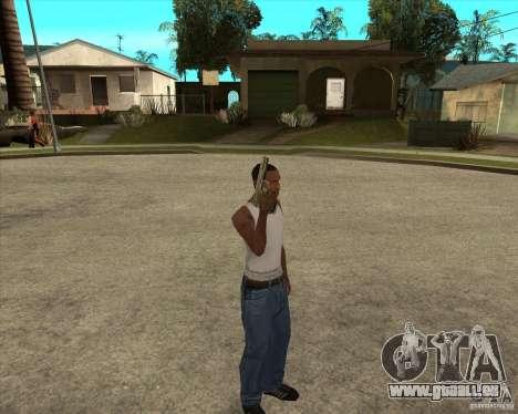 Armes de call of duty pour GTA San Andreas troisième écran