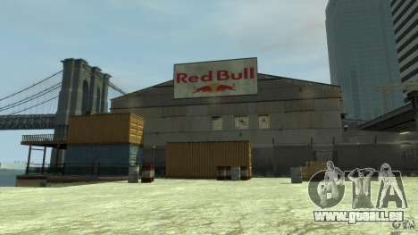 Red Bull Factory pour GTA 4
