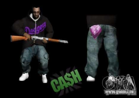 Pack Ballas Soldiaz Families V.2 für GTA San Andreas dritten Screenshot