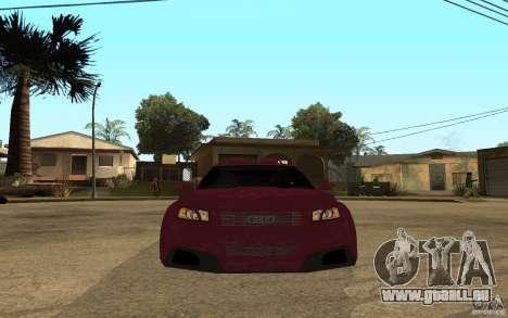 Audi A3 Tuned pour GTA San Andreas vue de droite