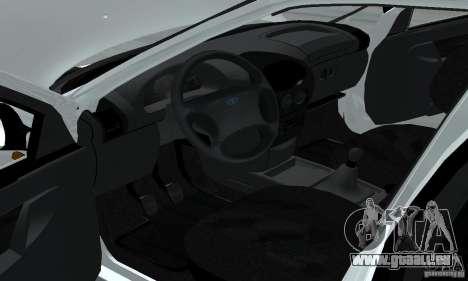 Lada Kalina Hatchback Stock pour GTA San Andreas vue arrière