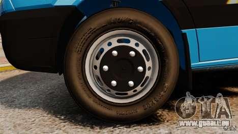 Mercedes-Benz Sprinter 3500 Car Transporter pour GTA 4 est un côté