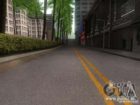 Modification Of The Road für GTA San Andreas her Screenshot