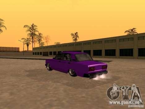 VAZ 2107 JDM für GTA San Andreas Innenansicht
